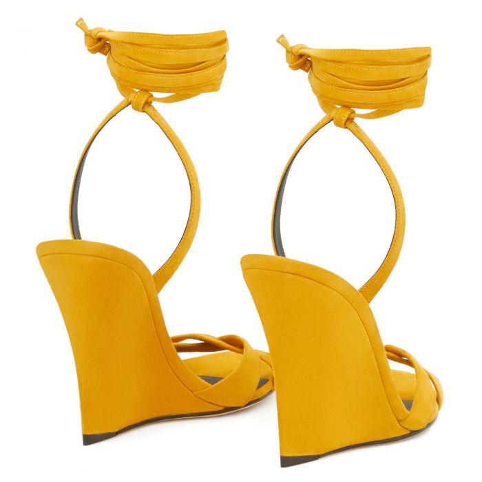 MANOLA - Yellow - На танкетке