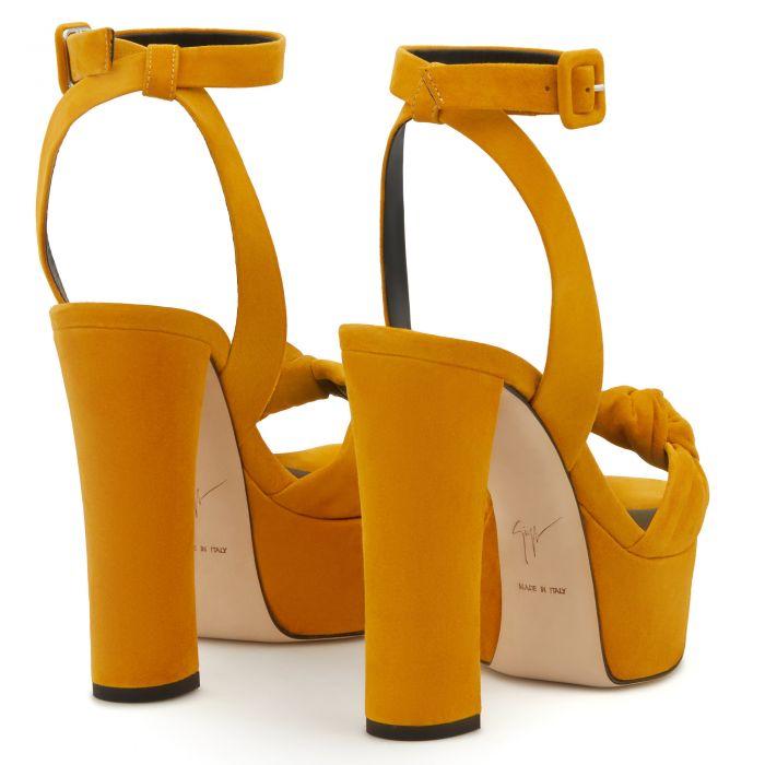BETTY KNOT - Yellow - На платформе