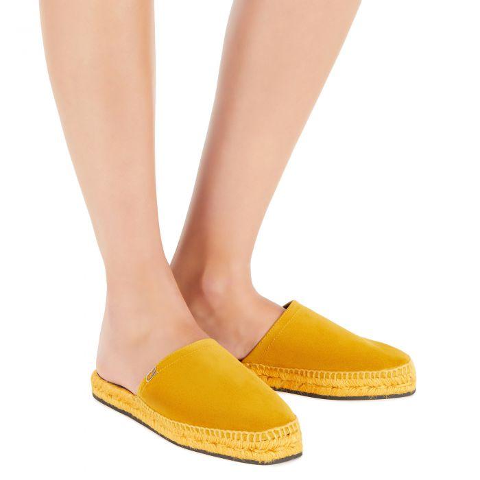 LYDIE - Yellow - На плоской подошве